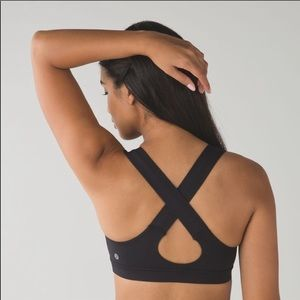 Lululemon all sports black bra 6
